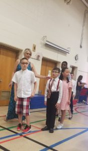 Jay at 5th grade graduation