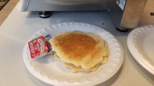 Day 3 - Voila!  Pancakes!